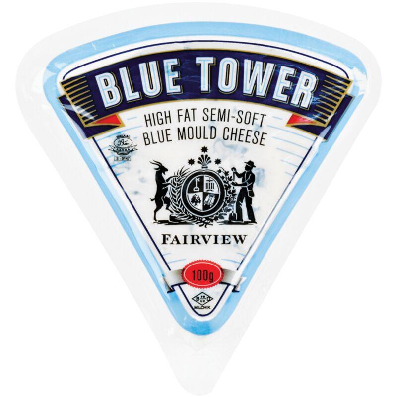 FAIRVIEW CHEESE BLUE TOWER BLUE – 100G