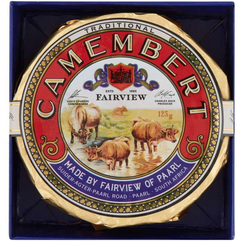 FAIRVIEW CHEESE TRADITIONAL CAMEMBERT – 125G