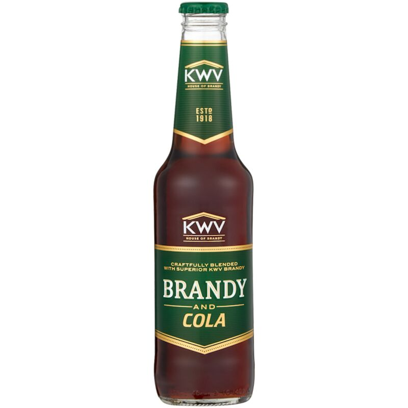 KWV BRANDY & COLA – 275ML