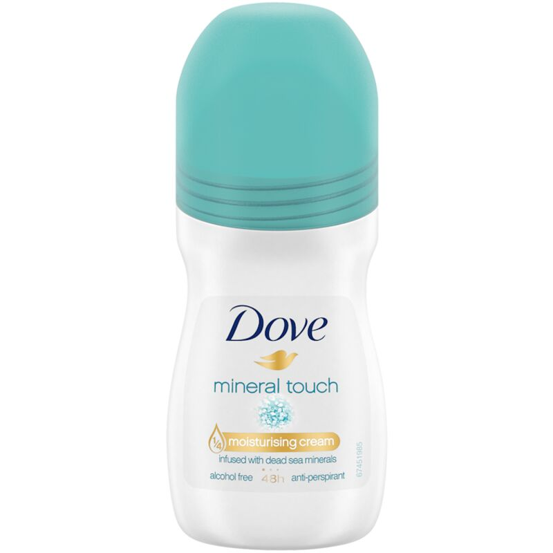 DOVE ROLL ON MINERAL TOUCH – 50ML