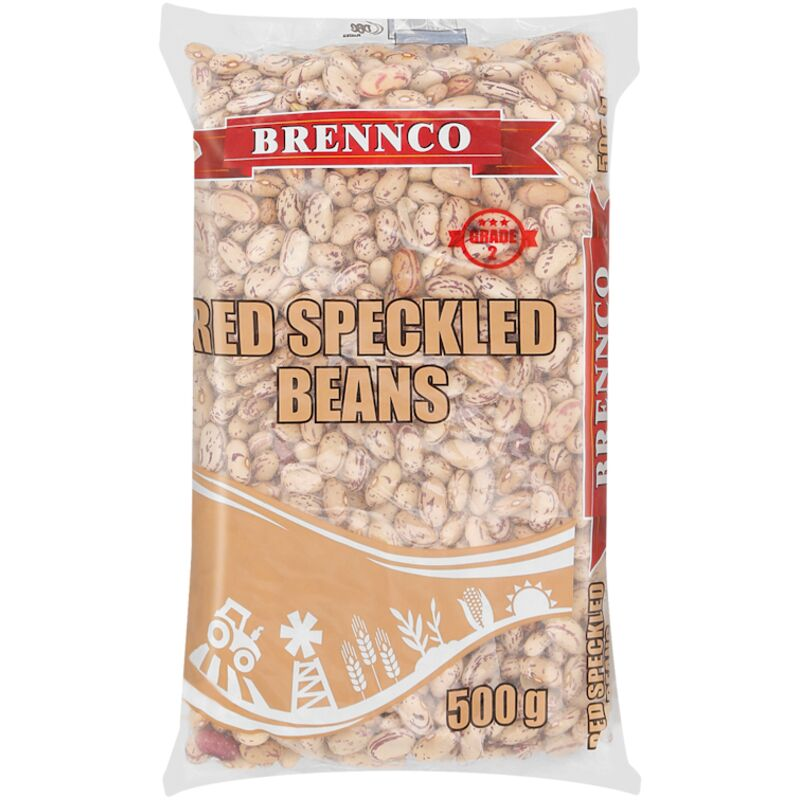BRENNCO RED SPECKLED BEANS – 500G