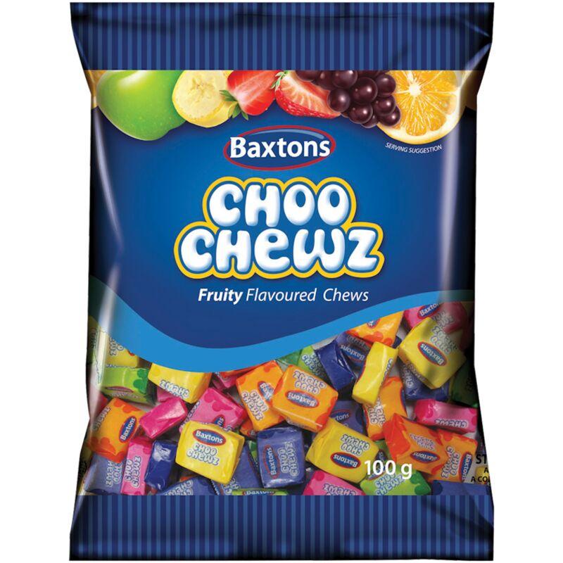 BAXTONS CHOO CHEWS FRUITY – 100G