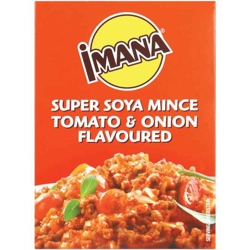 IMANA SOYA MINCE TOMATO & ONION – 200G