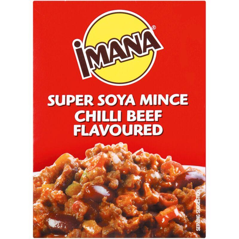 IMANA SOYA MINCE CHILLI BEEF – 200G