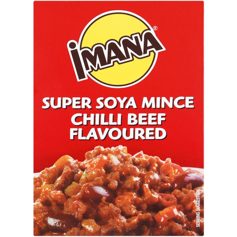 IMANA SOYA MINCE CHILLI BEEF – 400G