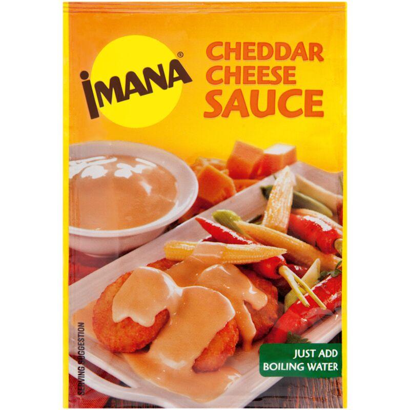 IMANA CHEDDAR CHEESE SAUCE – 38G