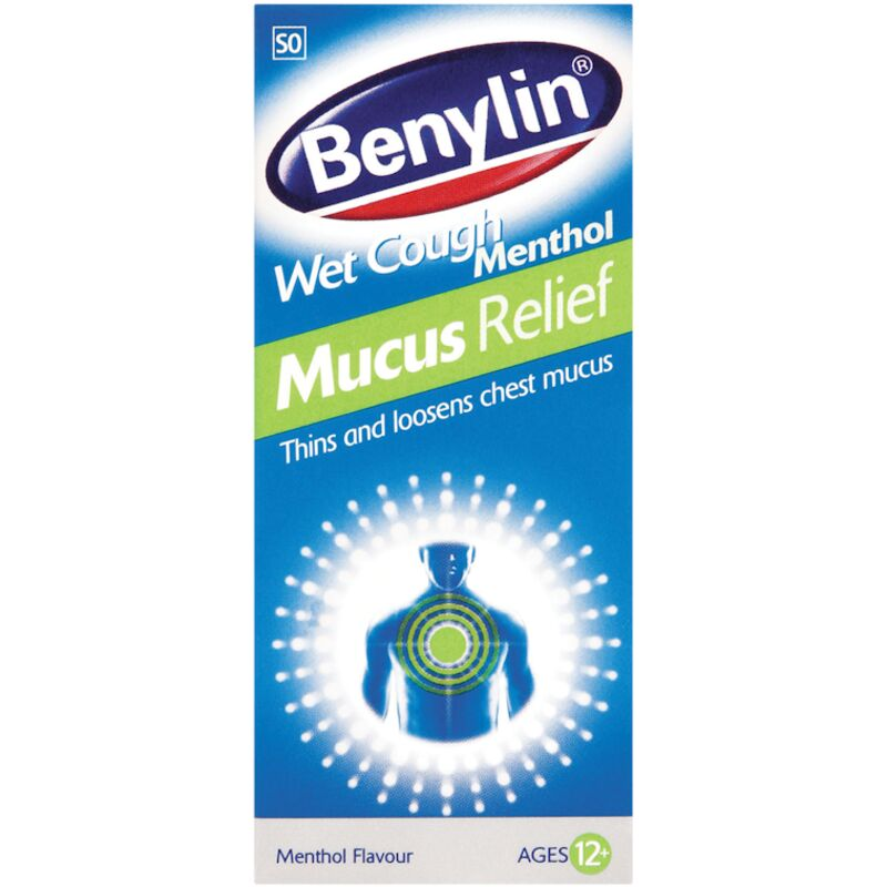 BENYLIN WET COUGH MENTHOL MUSCUS RELIEF SYRUP – 50ML