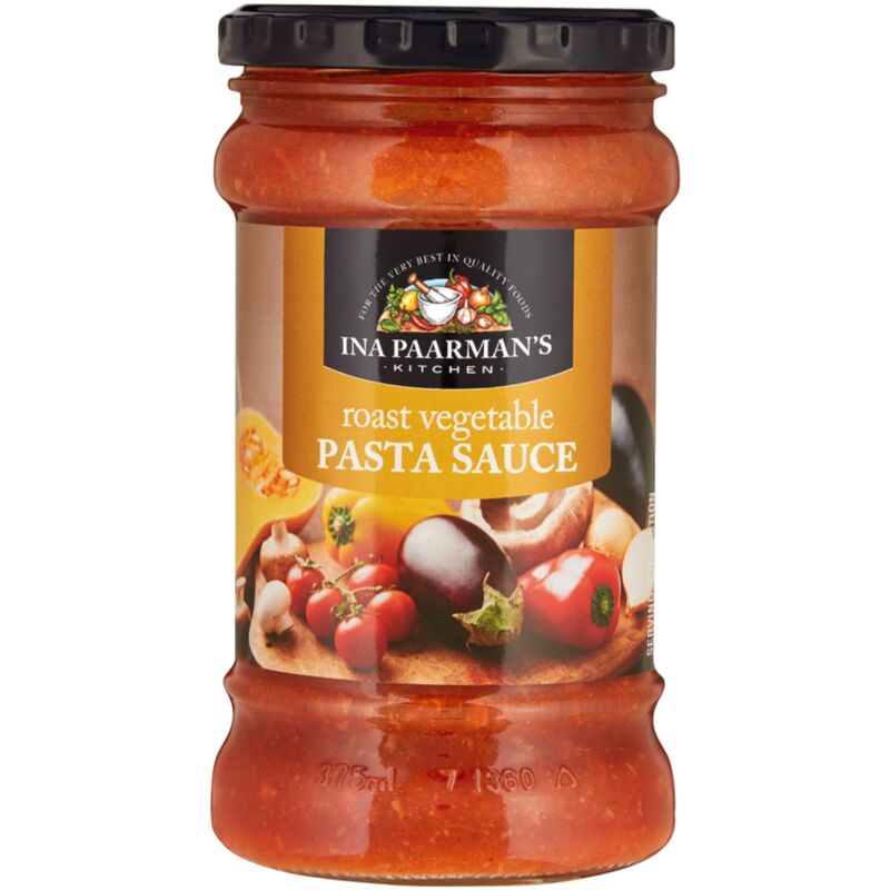 INA PAARMANS PASTA SAUCE ROASTED VEGETABLE – 400G