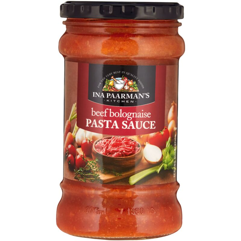 INA PAARMANS PASTA SAUCE BEEF BOLOGNAISE – 400G