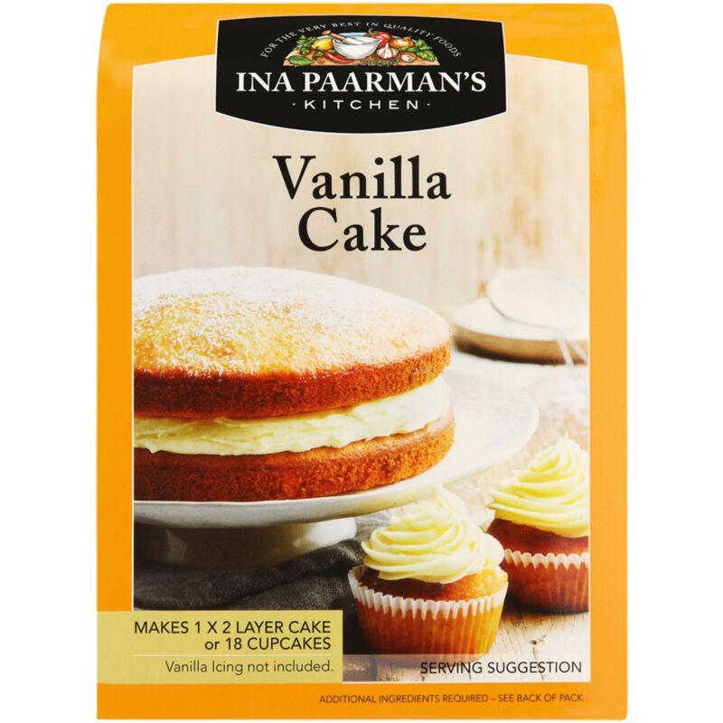 INA PAARMANS CAKE MIX VANILLA – 600G