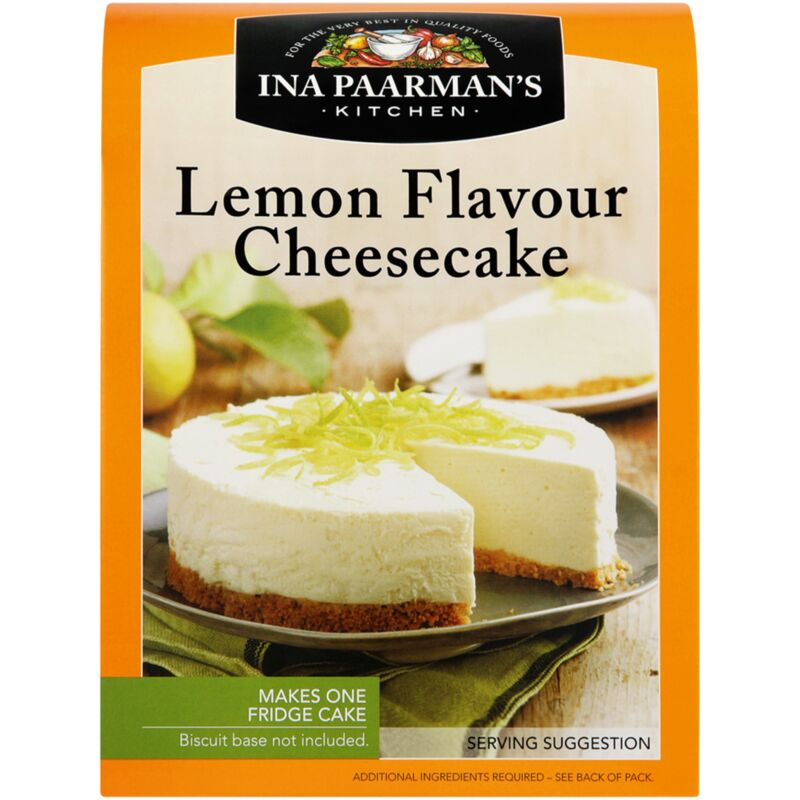 INA PAARMANS LEMON CHEESE CAKE – 250G