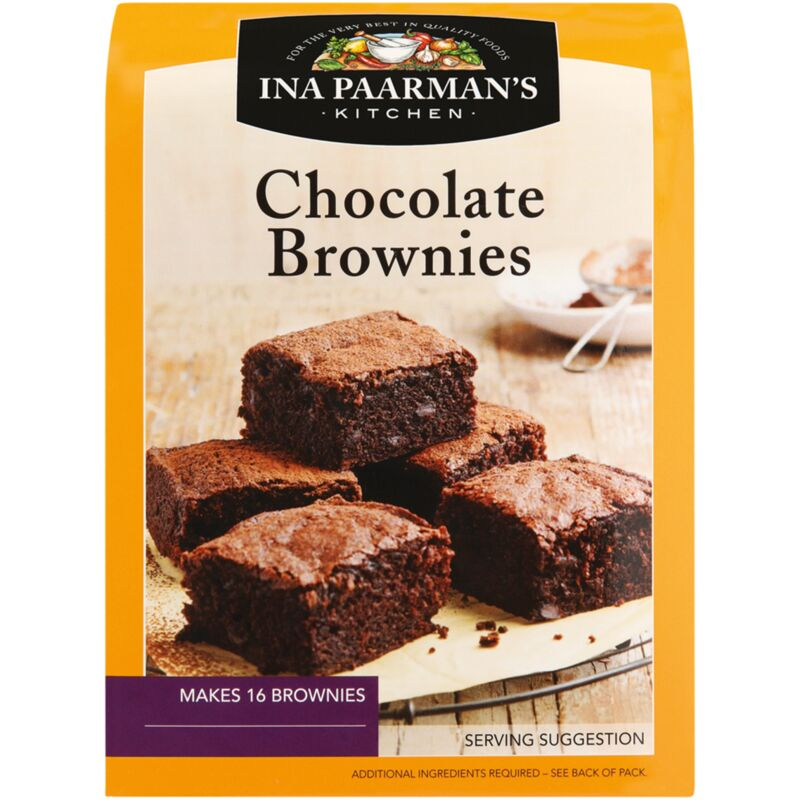 INA PAARMANS CHOCOLATE BROWNIE MIX – 550G