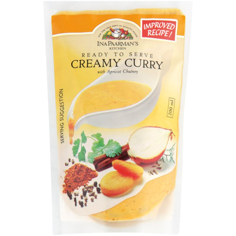 INA PAARMANS SAUCE CREAMY CURRY – 200ML
