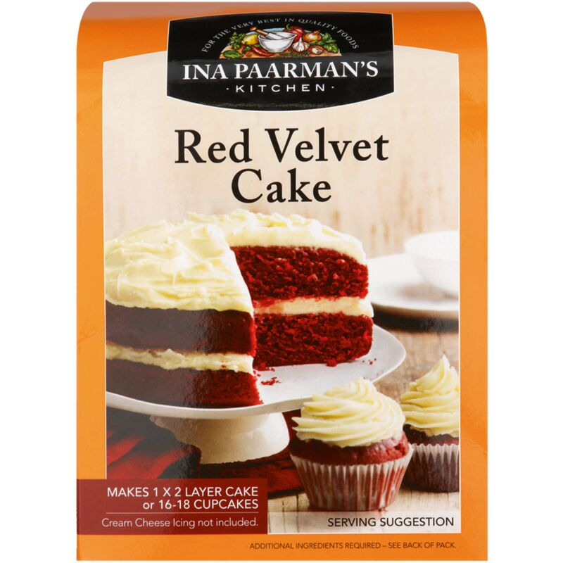 INA PAARMANS CAKE MIX RED VELVET – 580G