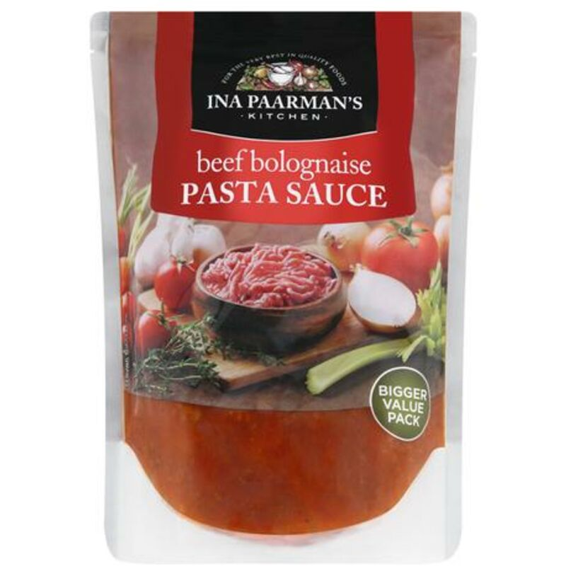 INA PAARMANS PASTA SAUCE BEEF BOLOGNAISE – 600G