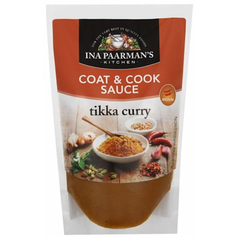 INA PAARMANS COOK-IN-SAUCE TIKKA CURRY – 200ML