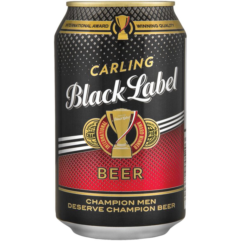 CARLING BLACK LABEL CAN – 330ML