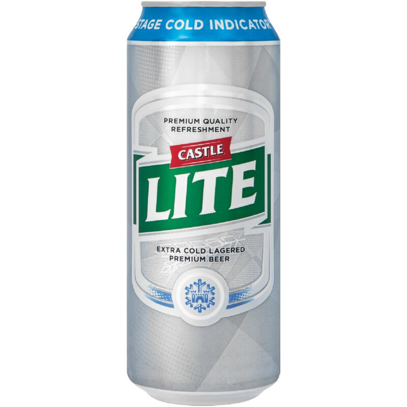 CASTLE LITE ICE CORE CAN – 500ML