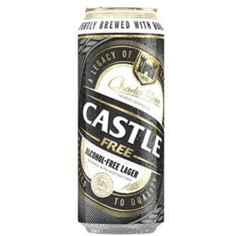 CASTLE FREE CAN – 500ML
