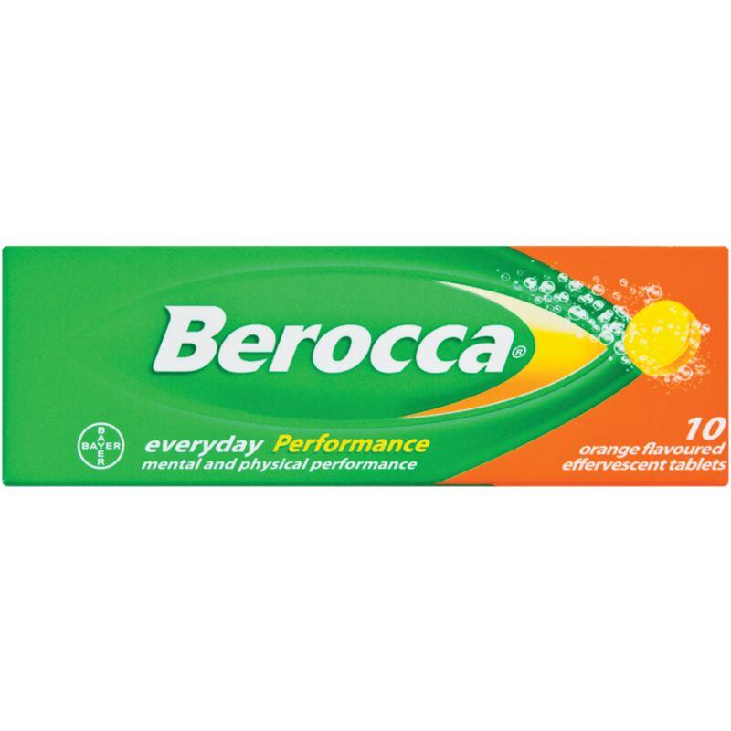 BEROCCA EFFERVESCENT ORANGE – 10S