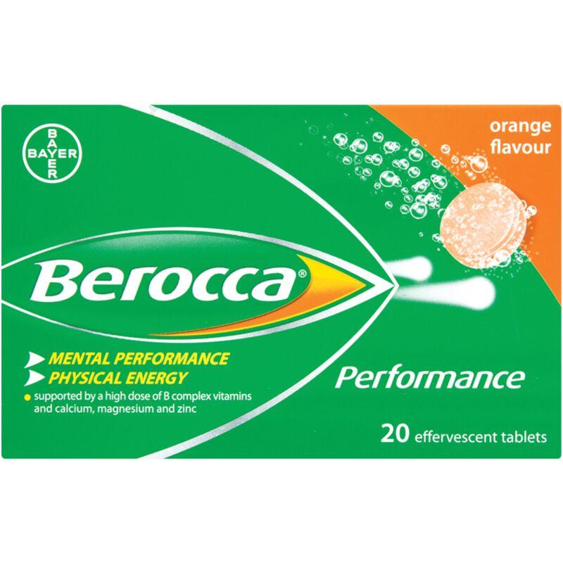 BEROCCA EFFERVESCENT ORANGE – 20S
