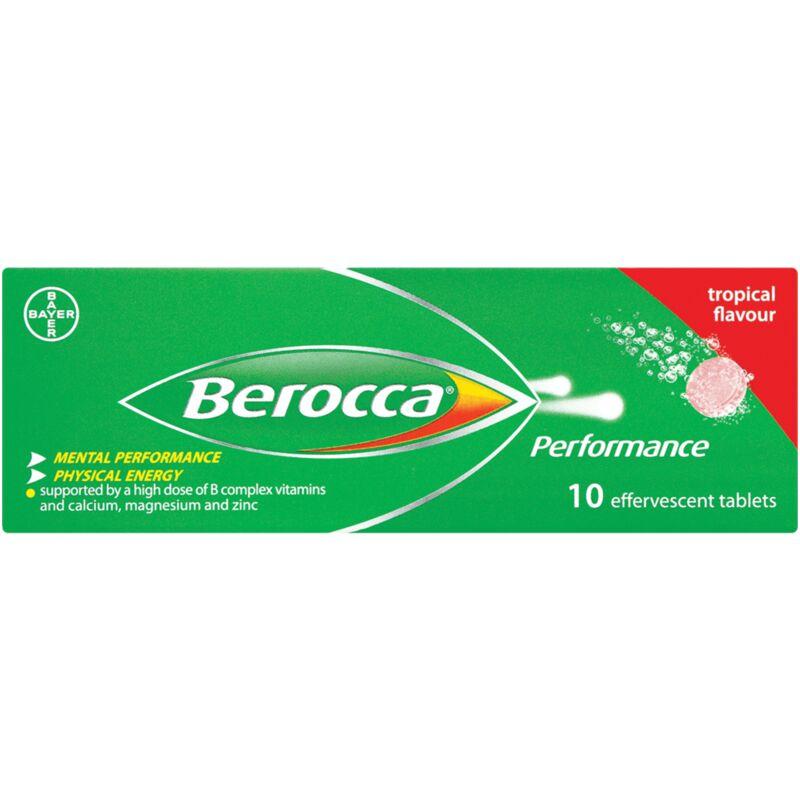 BEROCCA EFFERVESCENT TROPICAL – 10S