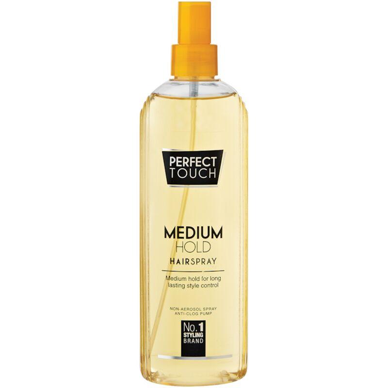 PERFECT TOUCH MEDIUM HOLD HAIR SPRAY – 350ML