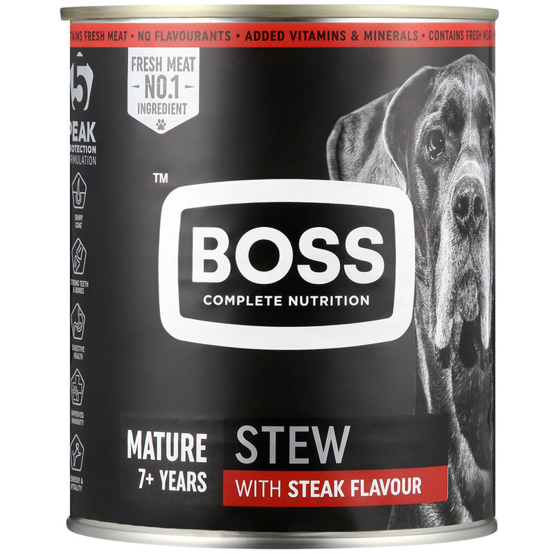 BOSS MATURE SALUT BEEF & CHICKEN – 775G