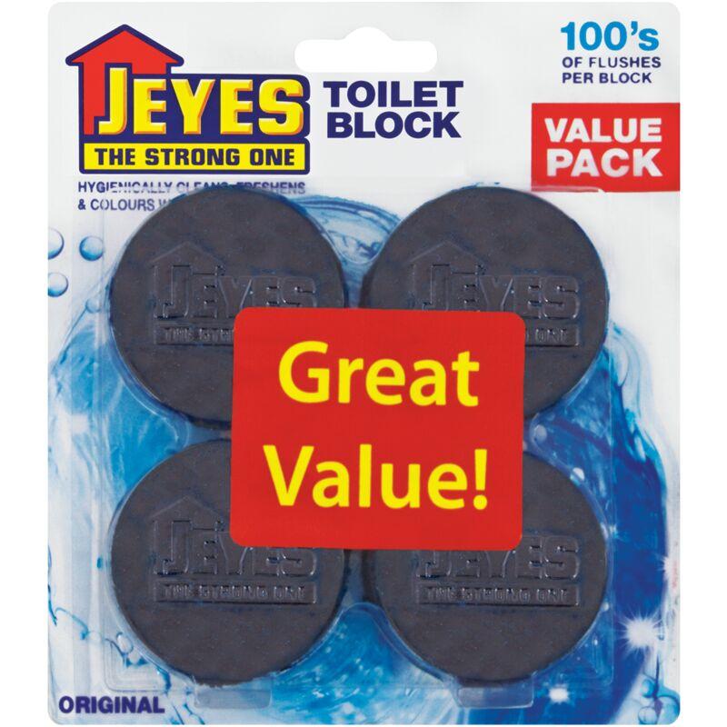 JEYES TOILET BLOCK ORIGINAL – 4S