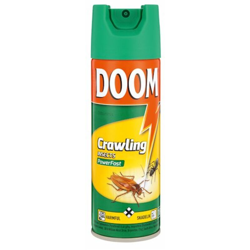 DOOM INSECTICIDE CRAWLING POWER FAST – 180ML