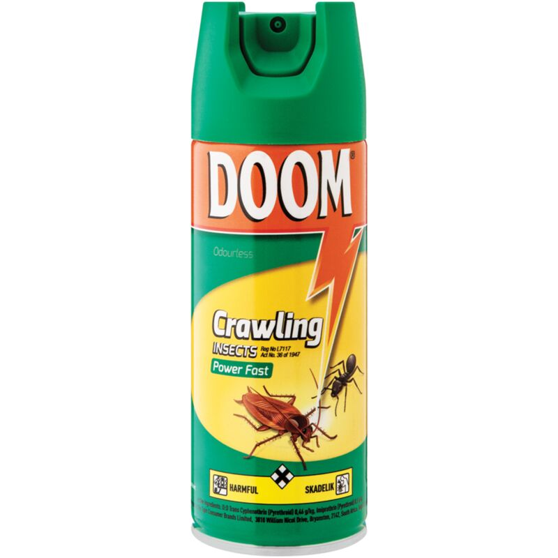 DOOM INSECTICIDE CRAWLING POWER FAST – 300ML