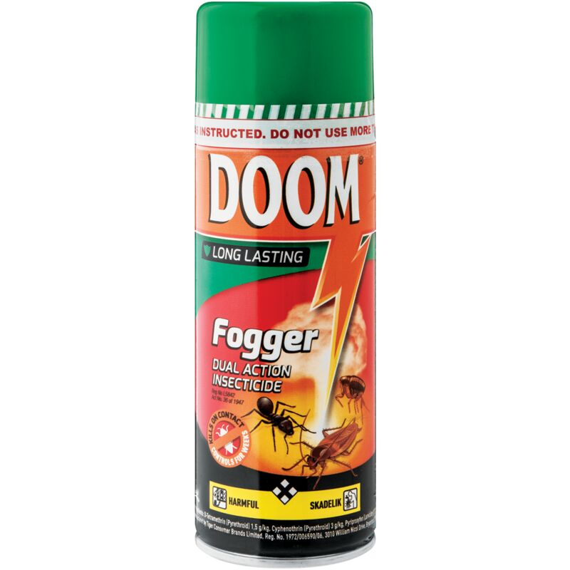 DOOM INSECTICIDE DUAL ACTION FOGGER – 350ML
