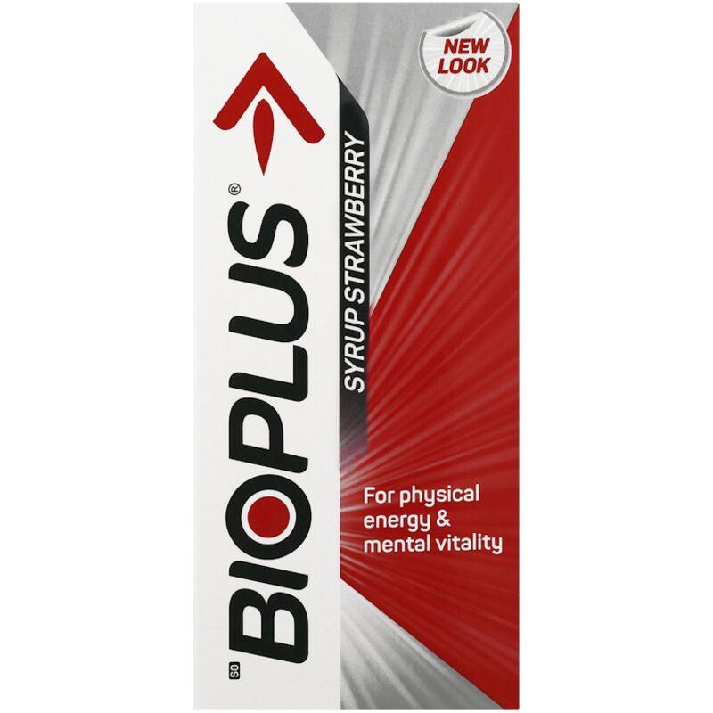 BIOPLUS STRAWBERRY ENERGY TONIC SYRUP – 200ML