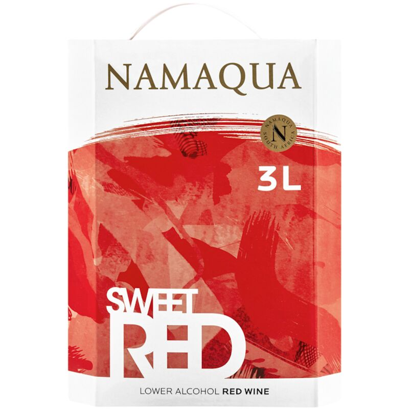 NAMAQUA NATURAL SWEET RED – 3L