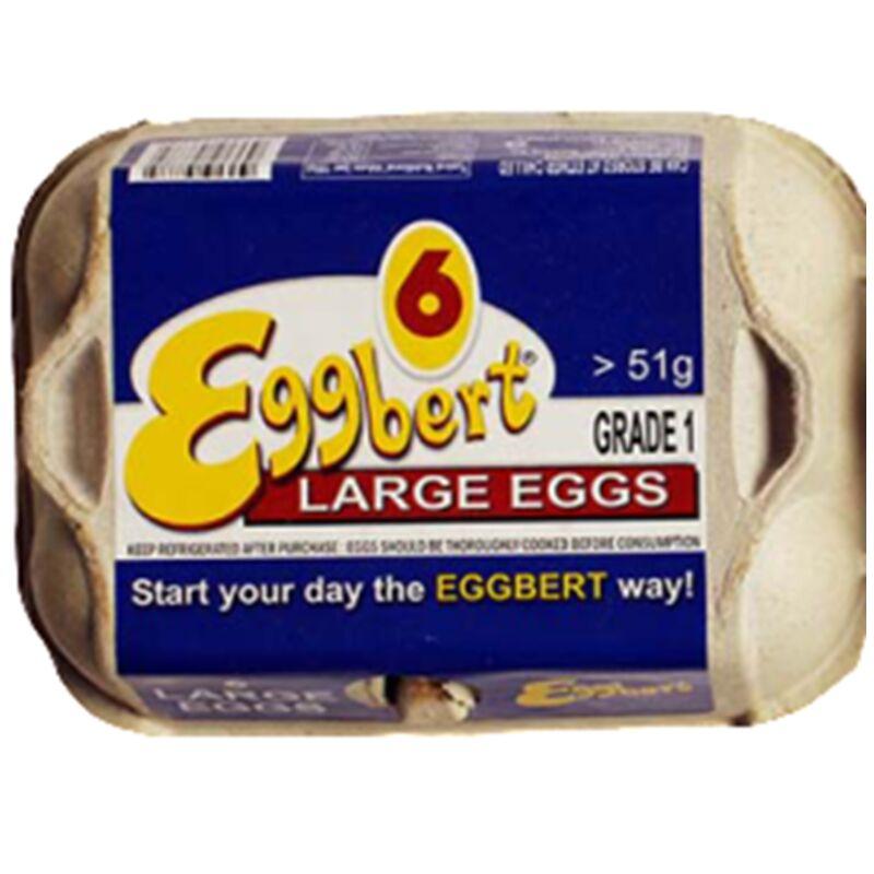 EGGSPERTS FREE RANGE LARGE EGGS – 6S