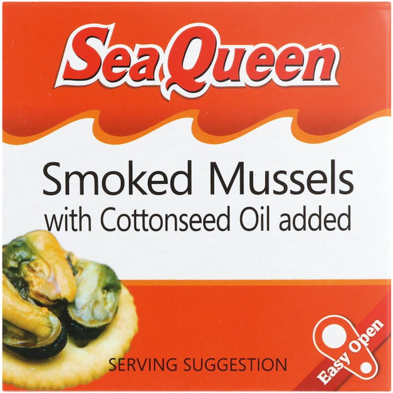 SEA QUEEN MUSSELS SMOKED – 100G