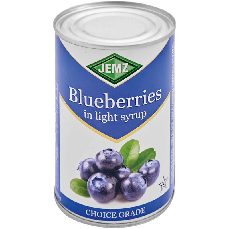 JEMZ BLUEBERRY IN SYRUP – 425G