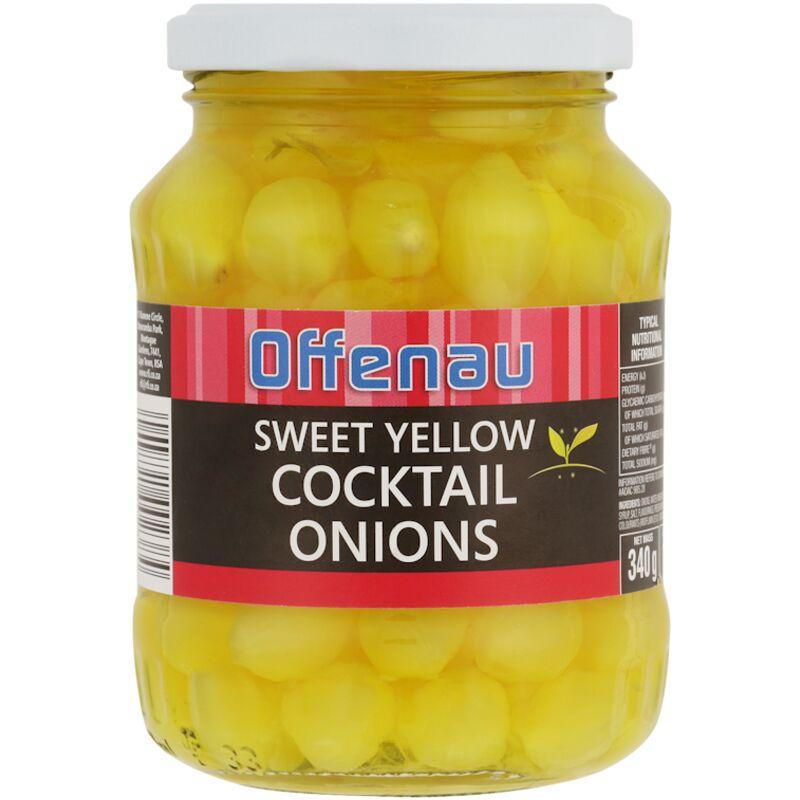 OFFENAU ONIONS COCKTAIL YELLOW – 340G