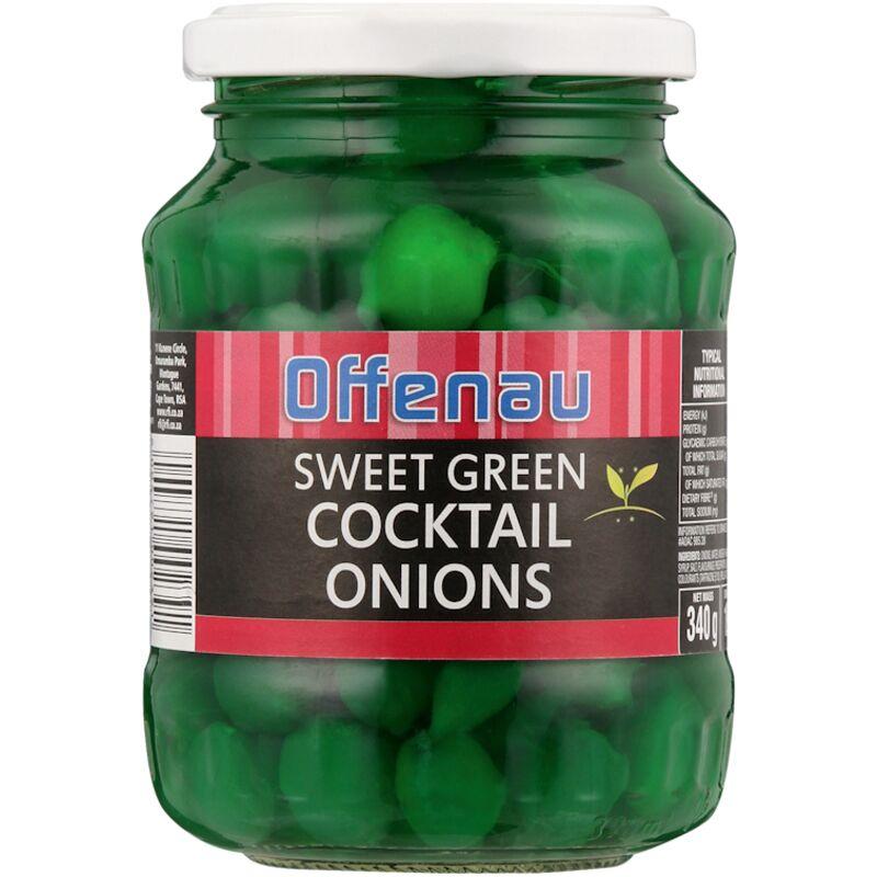OFFENAU ONIONS COCKTAIL SWEET GREEN – 340G