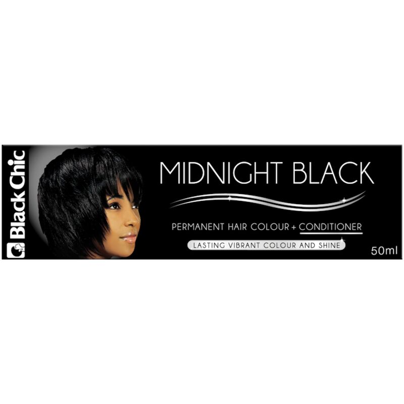 BLACK CHIC H/COL MIDNIGHT BLACK – 50ML