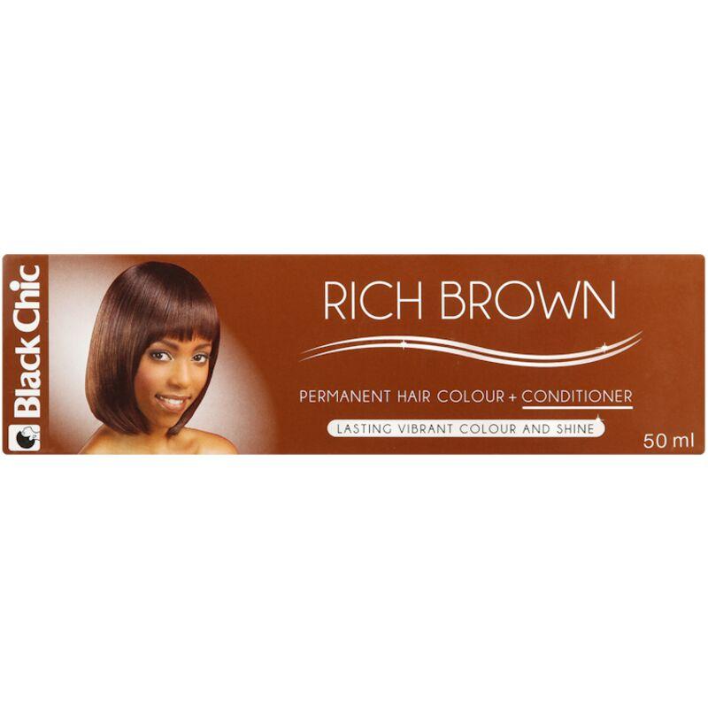BLACK CHIC H/COL RICH BROWN – 50ML