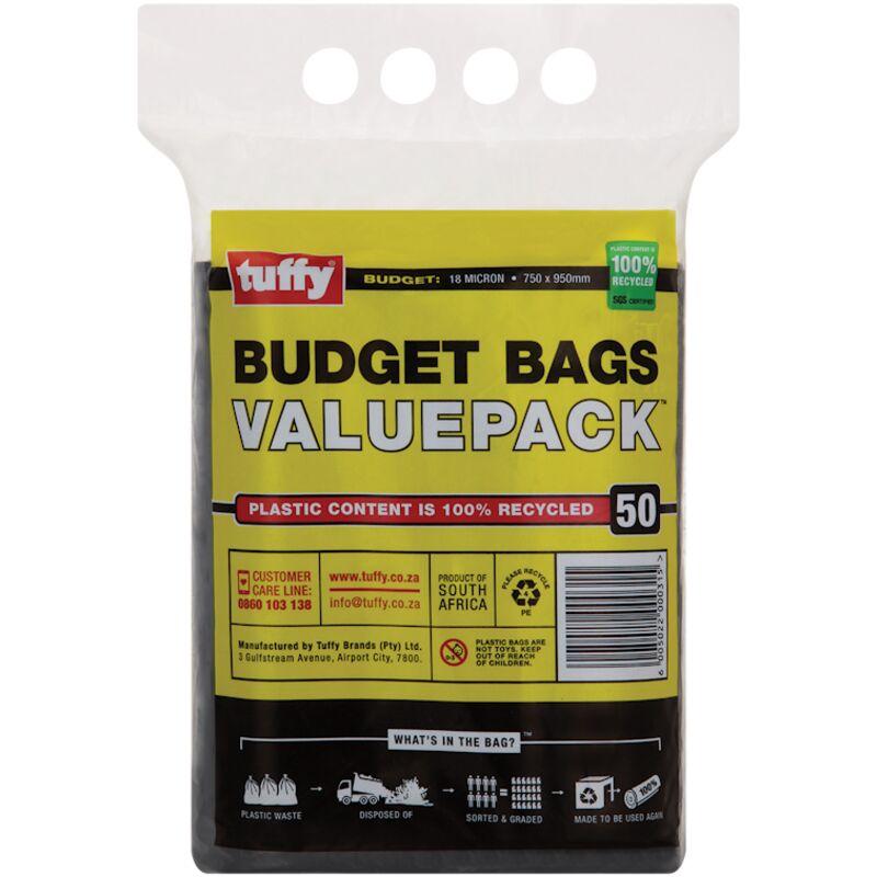 TUFFY BUDGET BLACK BAG – 50S