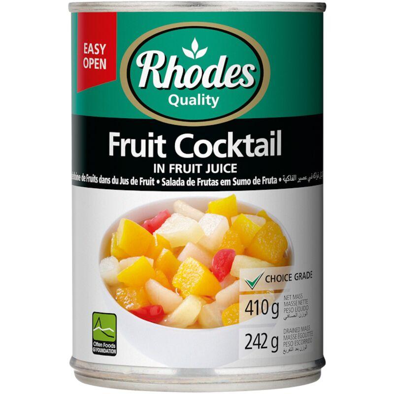 RHODES FRUIT COCKTAIL IN FRUIT JUICE DIABETIC – 410G