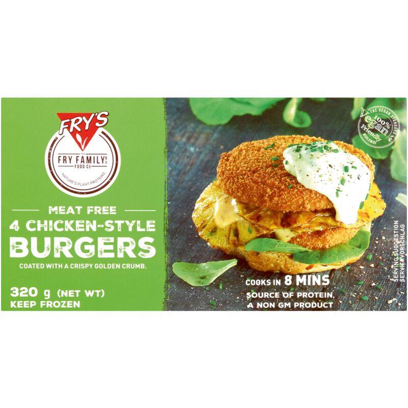 FRYS FOODS VEG CHIC BURGER – 320G