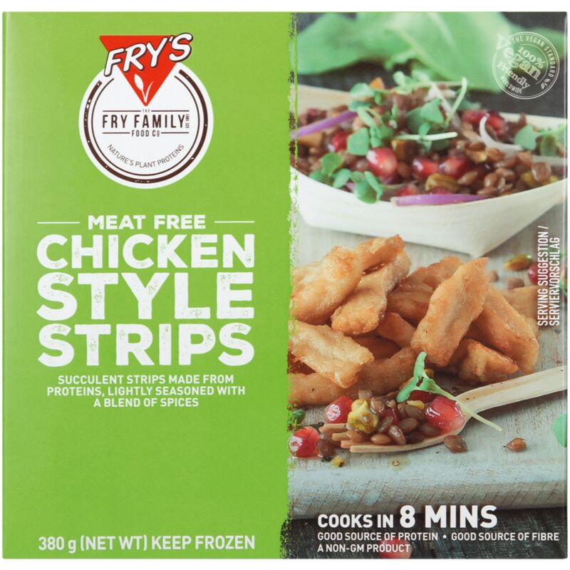 FRYS FOOD VEG CHICK STRIPS – 380G