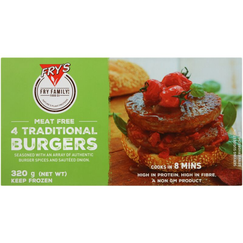 FRYS BURGER TRADITIONAL – 320G