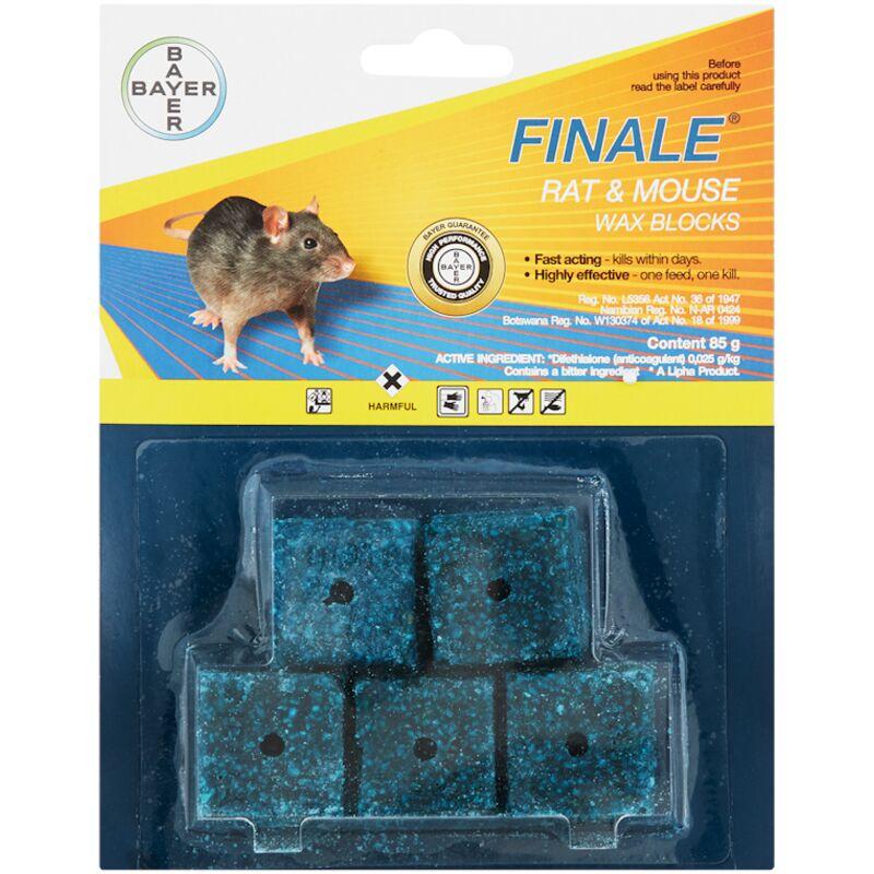 BAYER FINALE RAT & MOUSE WAX BLOCKS – 85G