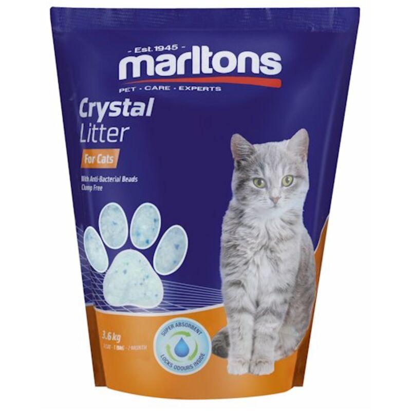 MARLTONS CAT LITTER CRYSTALS – 3.6KG