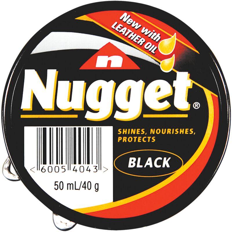 NUGGET SHOE POLISH BLACK – 50ML