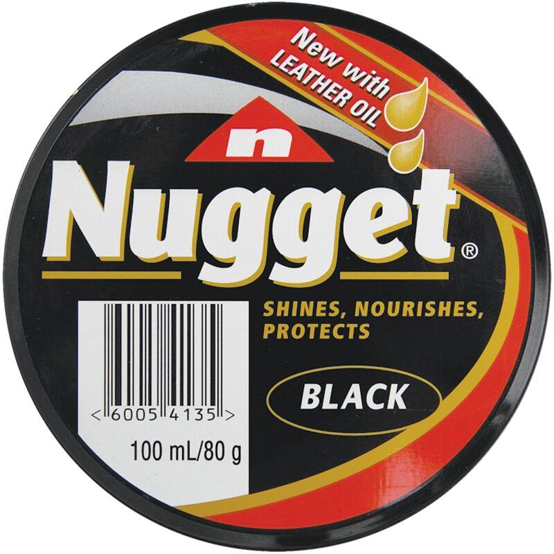 NUGGET SHOE POLISH BLACK – 100ML
